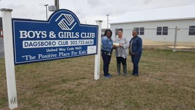 County Bank makes donation to Boys & Girls Club