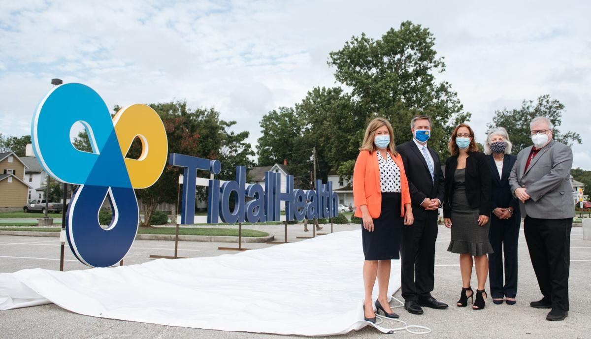 TidalHealth unveiling photo