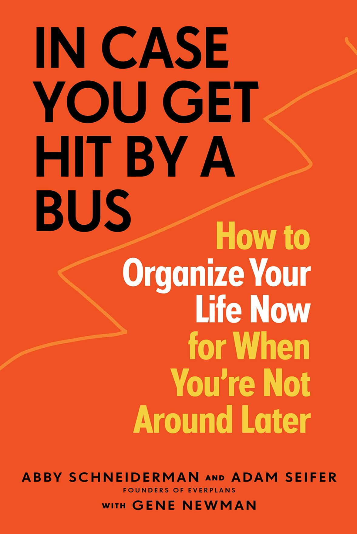 'In Case You Get Hit By a Bus' book cover