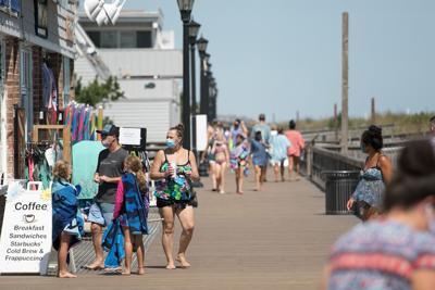 Bethany Beach boardwalk summer 2020
