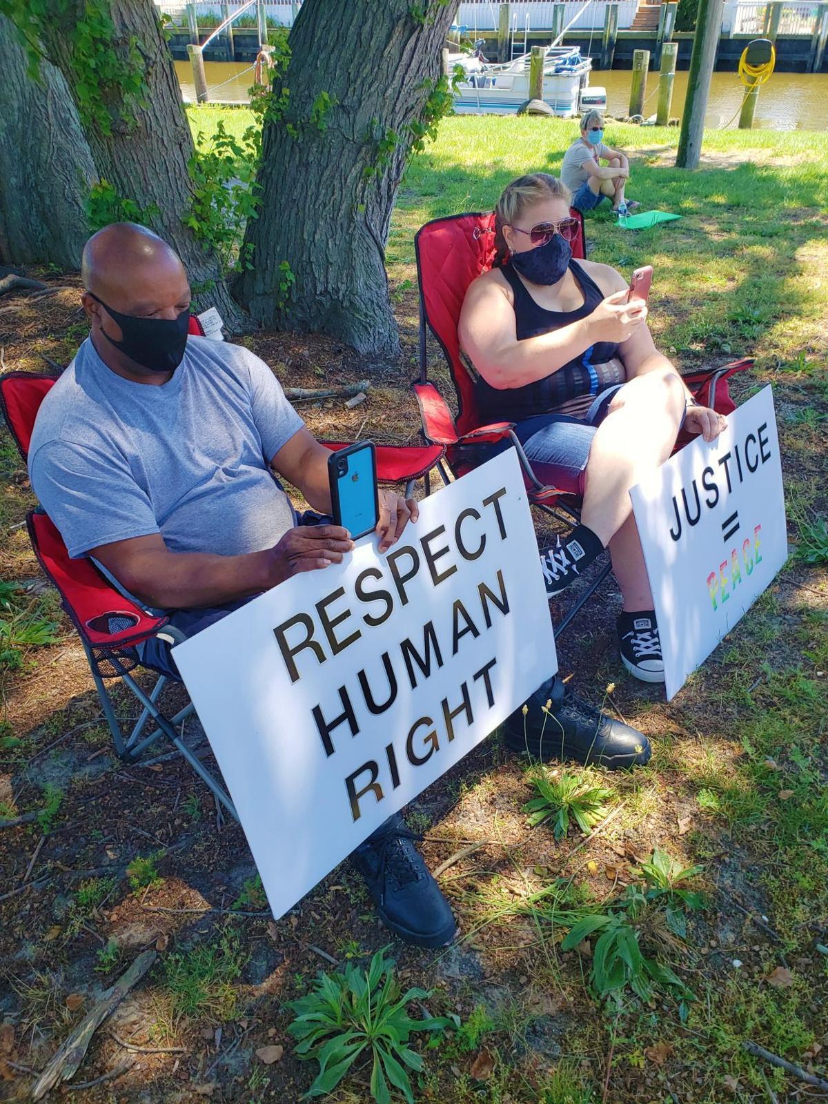 Millsboro rally attendees