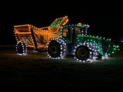Farm family lights up the holidays