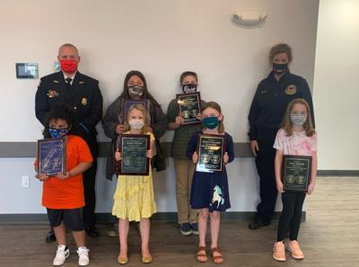Lord Baltimore Elementary 2021 Fire Prevention essay, poster contest winners