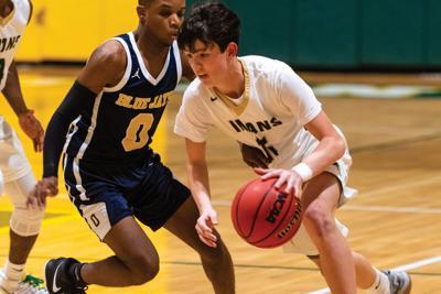 Gage Spinks IRHS boys' basketball 2019-2020
