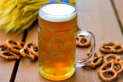 Thompson Island Oktoberfest beer