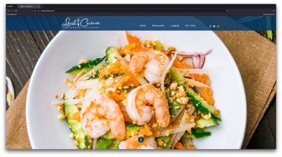 Local Cuisine website