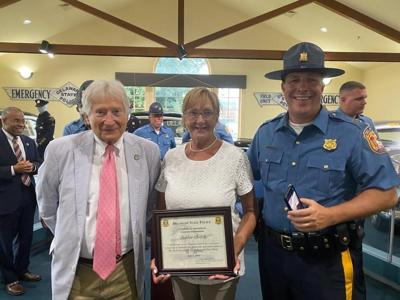 Botchie named honorary commander, DSP Troop 4