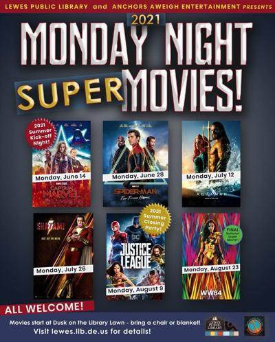 Lewes library Super Movie nights