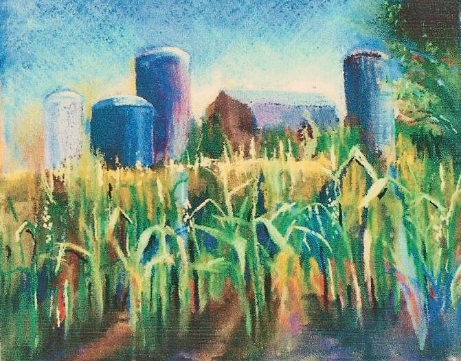 Joyce Condry Delaware Cornfield pastel.jpg