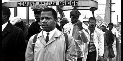 Pettus Bridge march image for SDARJ Zoom event