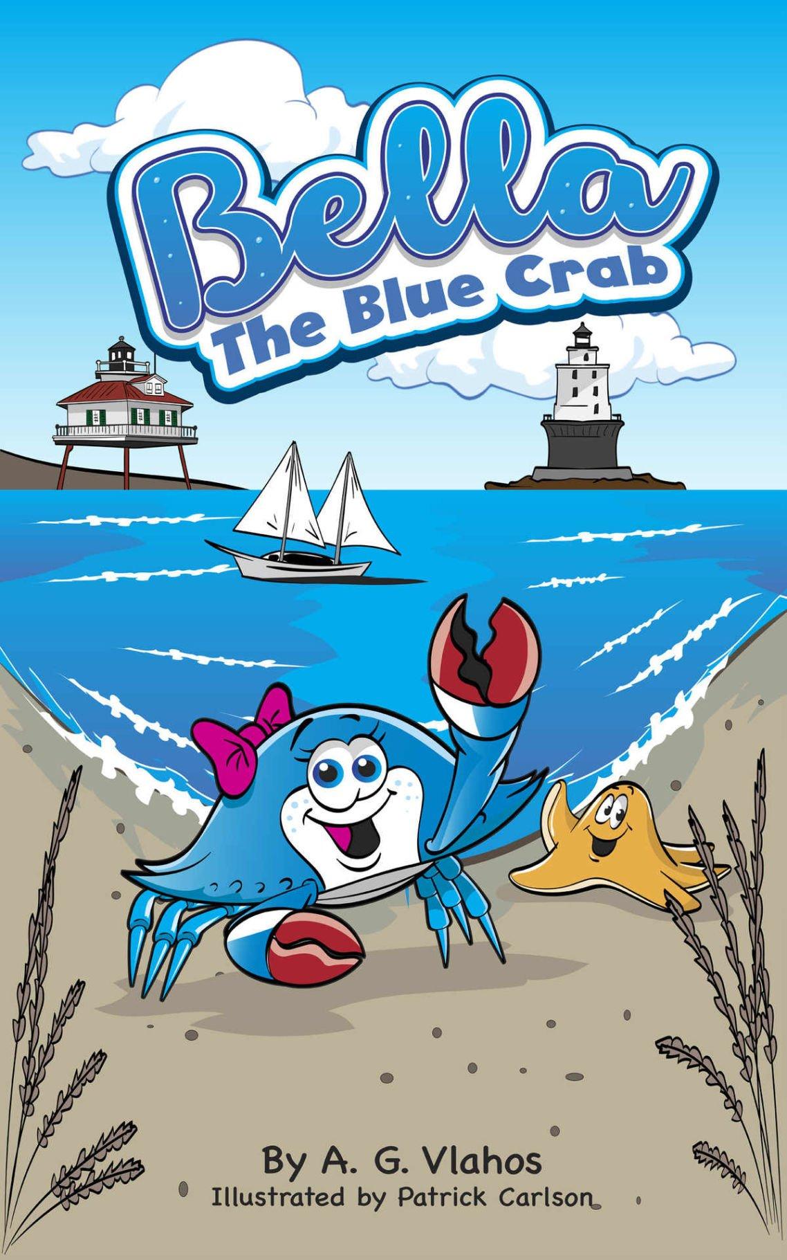 Bella the Blue Crab