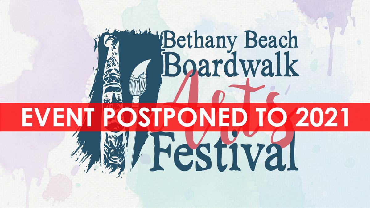 Boardwalk Arts Festival postponed