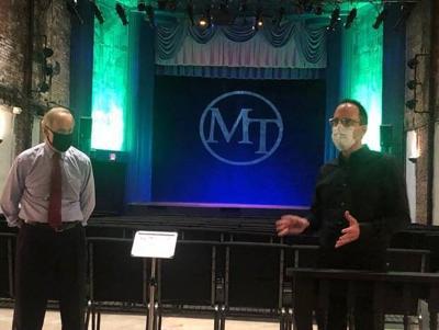 Carper at Milton Theatre on ENCORES Act
