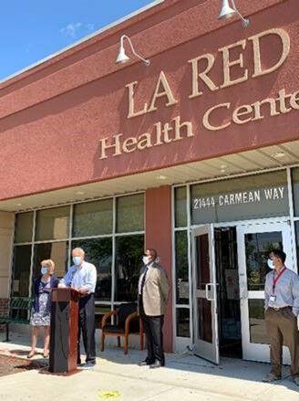Carper announces LaRed grant