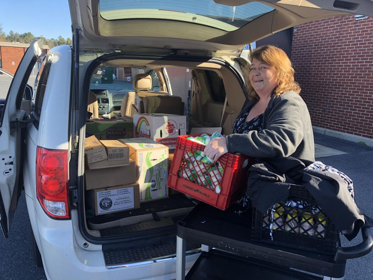 Sussex Tech donate food to feeding effort