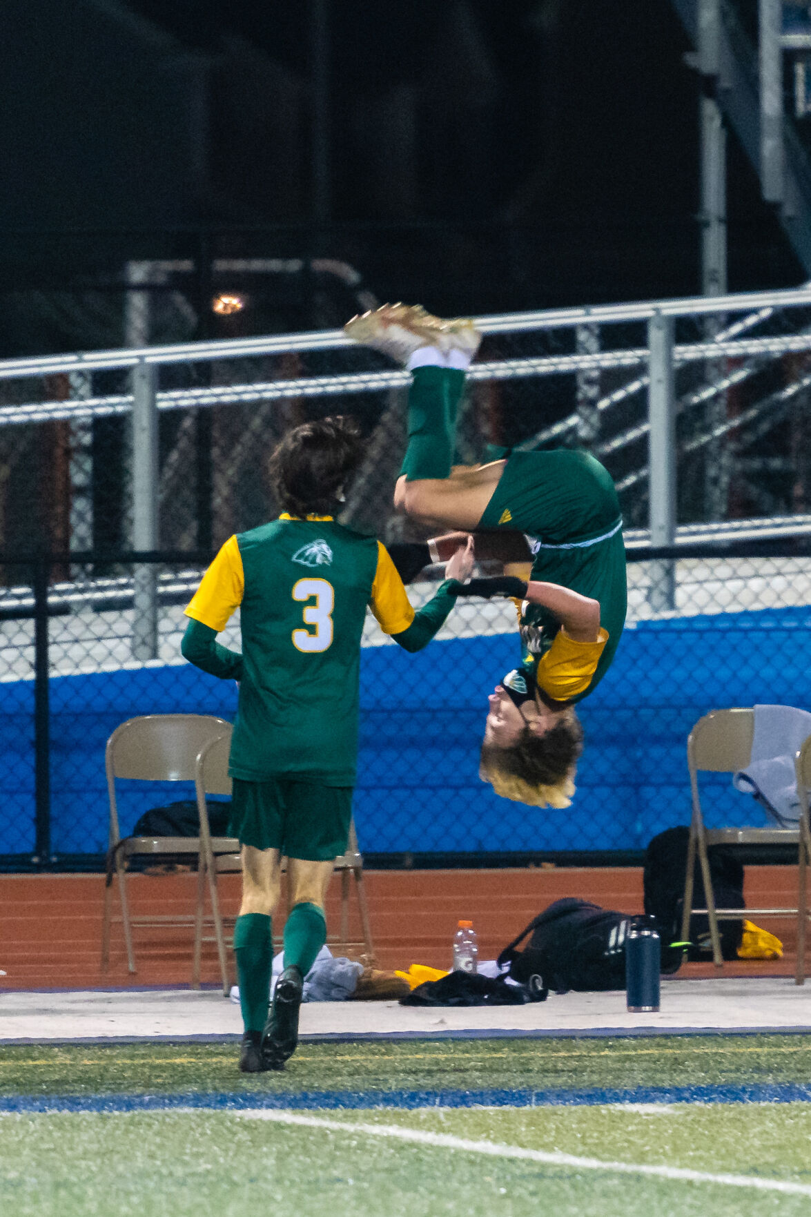 IR Boys' Soccer vs. Newark Charter School - State Championship - Jordan Illian does a front flip after scoring the second goal of the game-SLam-2373.jpg
