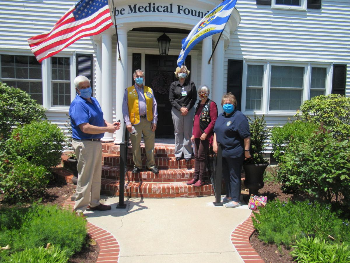 Lions Clubs support Beebe Medical Foundation