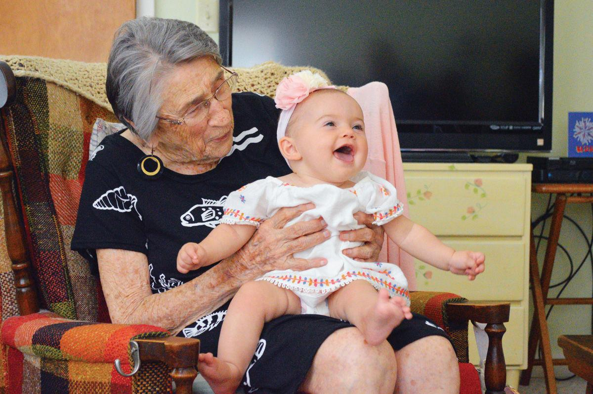 South Bethany woman, 102, meets great-great-granddaughter