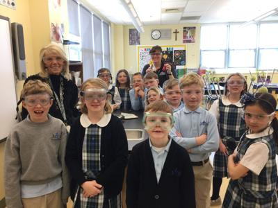MBS second-graders learn about the states of matter