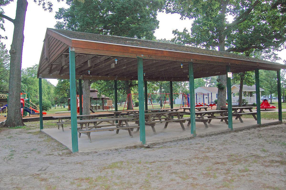 John West Park pavilion