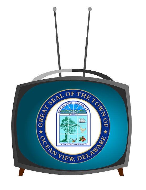 Ocean View government access TV (OCTV) logo