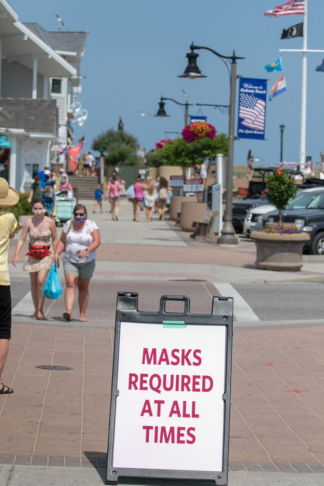Bethany Beach Fourth of July downtown
