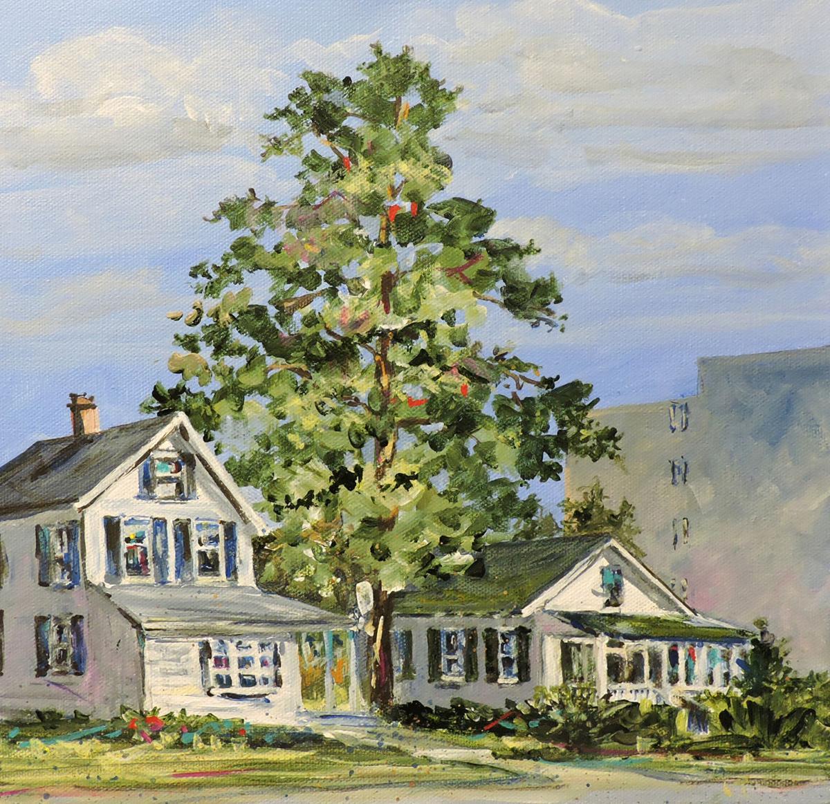 DSheldon Two Cottages acrylic.jpg
