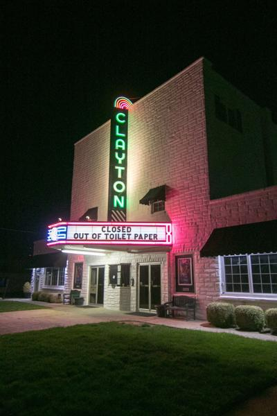 Clayton Theater closed