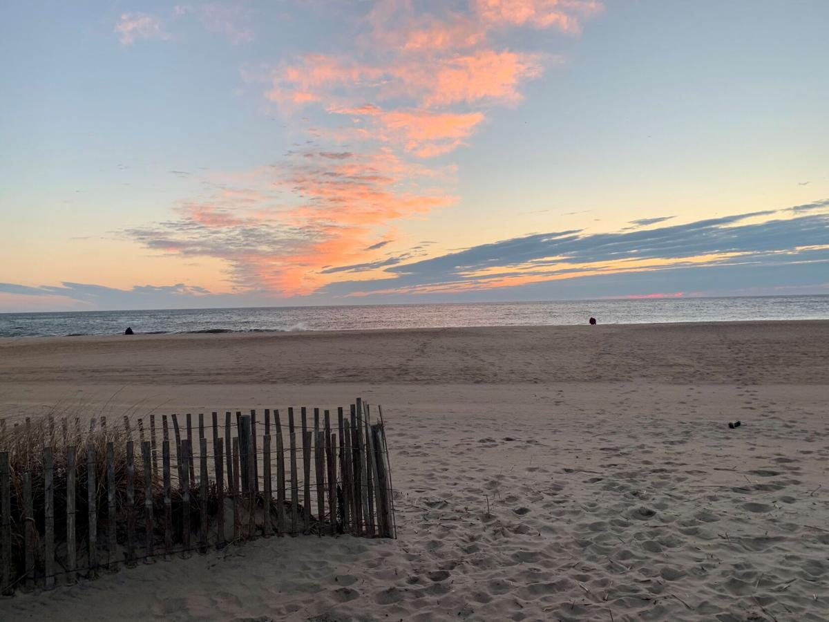 Sandy toes, sunrise skies