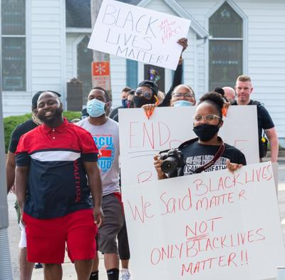 Frankford sees peaceful demonstration amid national protest movement