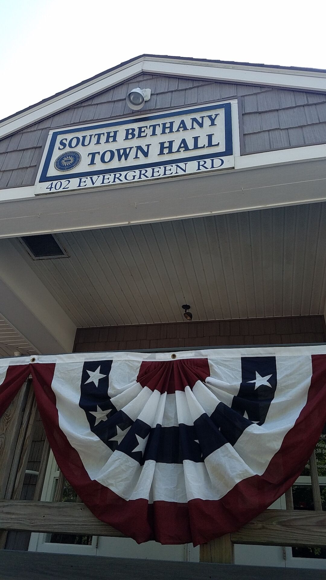 South Bethany Town Hall banner