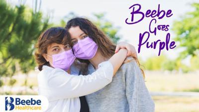 Beebe Goes Purple