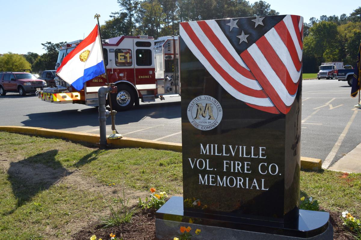 Millville Vol. Fire Co. memorial flag