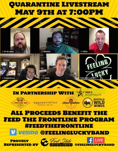 Online concert to benefit Feed the Frontline