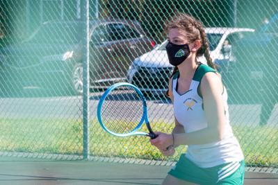 IRHS tennis Nicole Norman