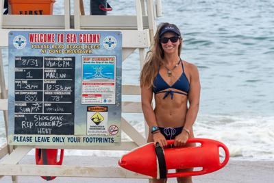 Lexi Santer, Sea Colony beach patrol