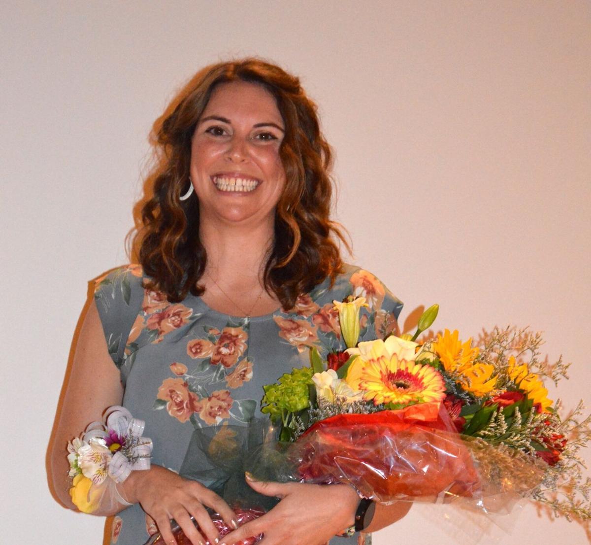 Haley Mears wins IRSD Teacher of the Year