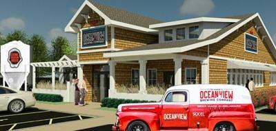 Ocean View Brewing Company rendering