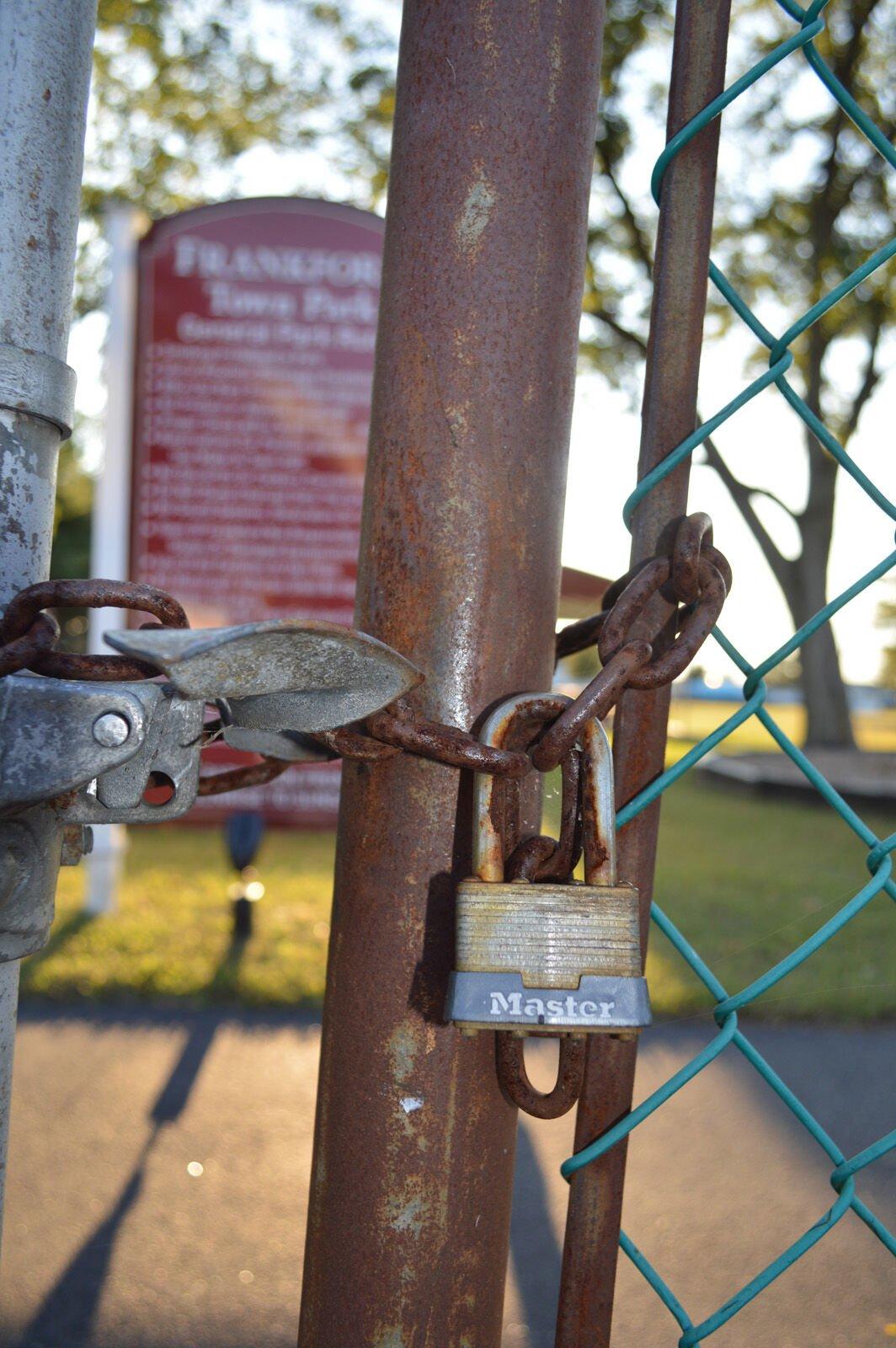 Frankford Park padlock (copy)