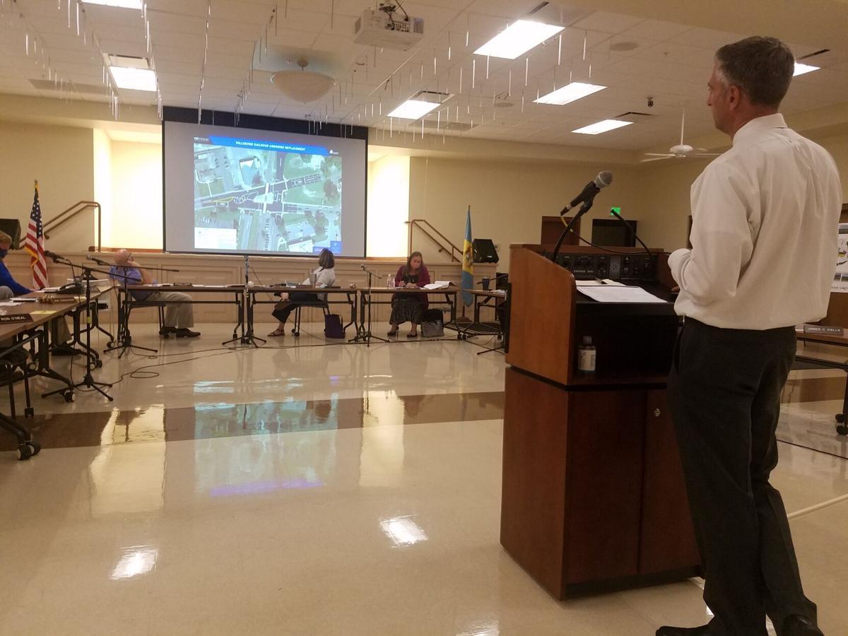 Millsboro Town Council - railroad construction plans