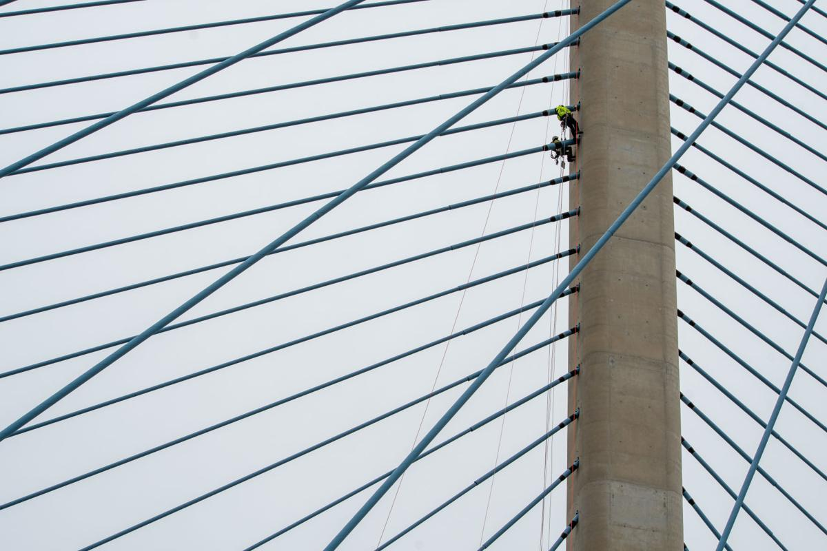 Indian River Inlet Bridge inspection