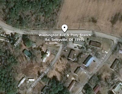 Map of street robbery location