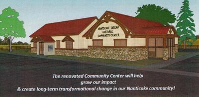 Nanticoke Indian Center renovation elevation