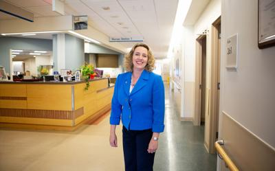 Marcy Jack, vice president and chief quality and safety officer, Beebe Healthcare