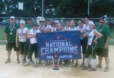 Delaware Tribe 12U softball team