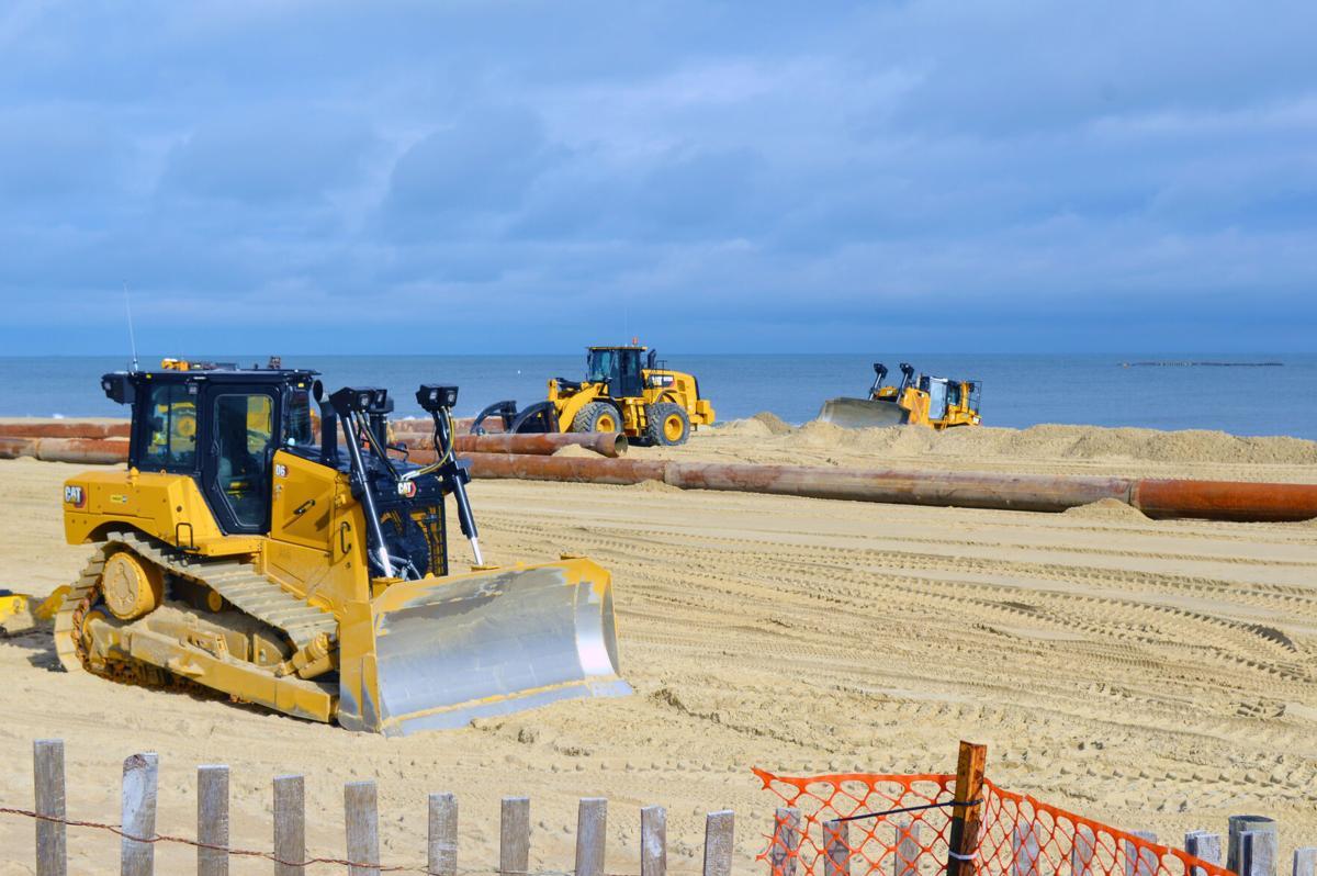 Beach replenishment equipment