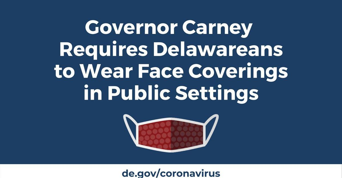 Face coverings required in public