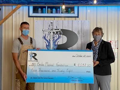 Revolution donates to Beebe
