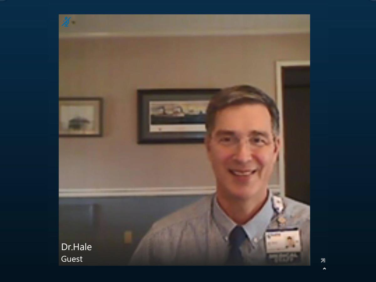 Telemedicine visit by Dr. John Hale (copy)
