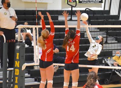 Scarlett Dunn, IRHS volleyball
